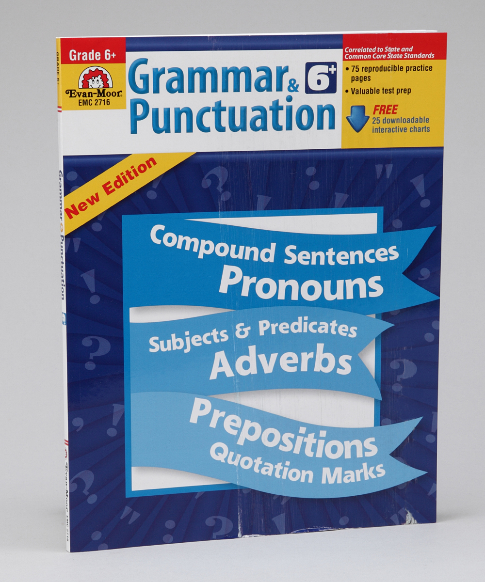 Workbooks grammar and punctuation workbook : Evan-Moor Educational Publishers Grammar & Punctuation: Grade 6 ...