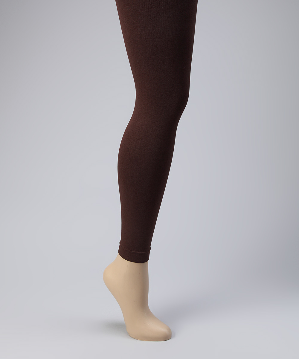 760aeb3a59e7c love this product Brown Footless Tights Set - Women