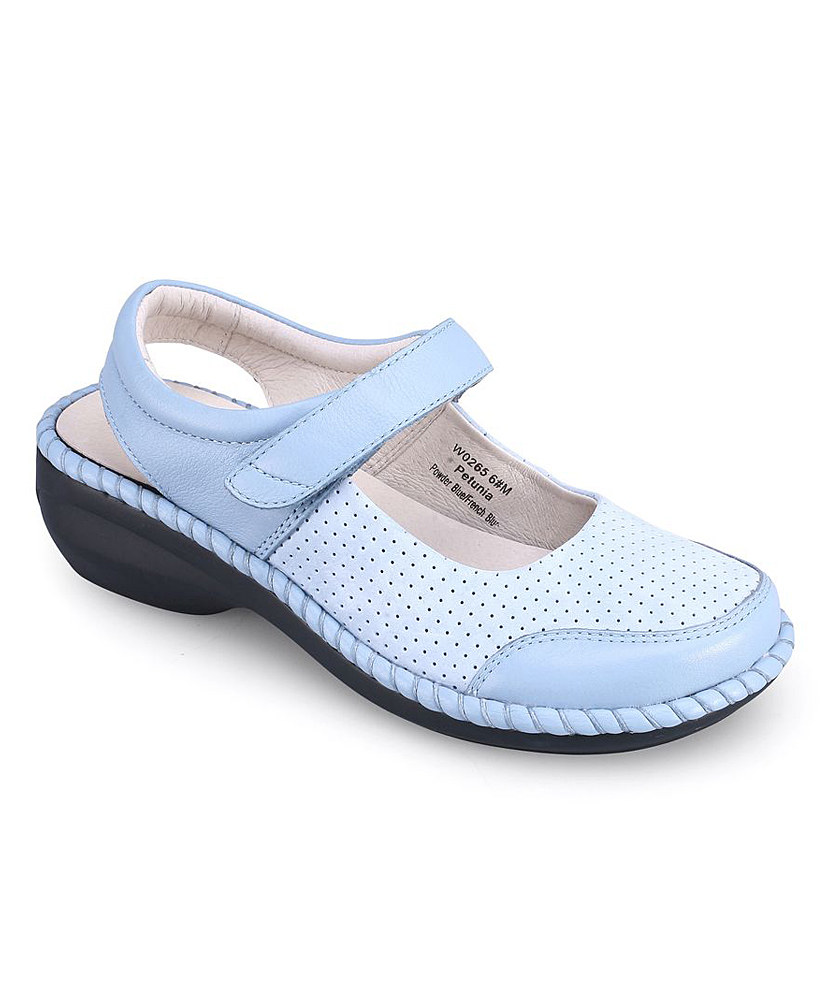 c0f4e272ee60 love this product Powder Blue Petunia Leather Mary Jane
