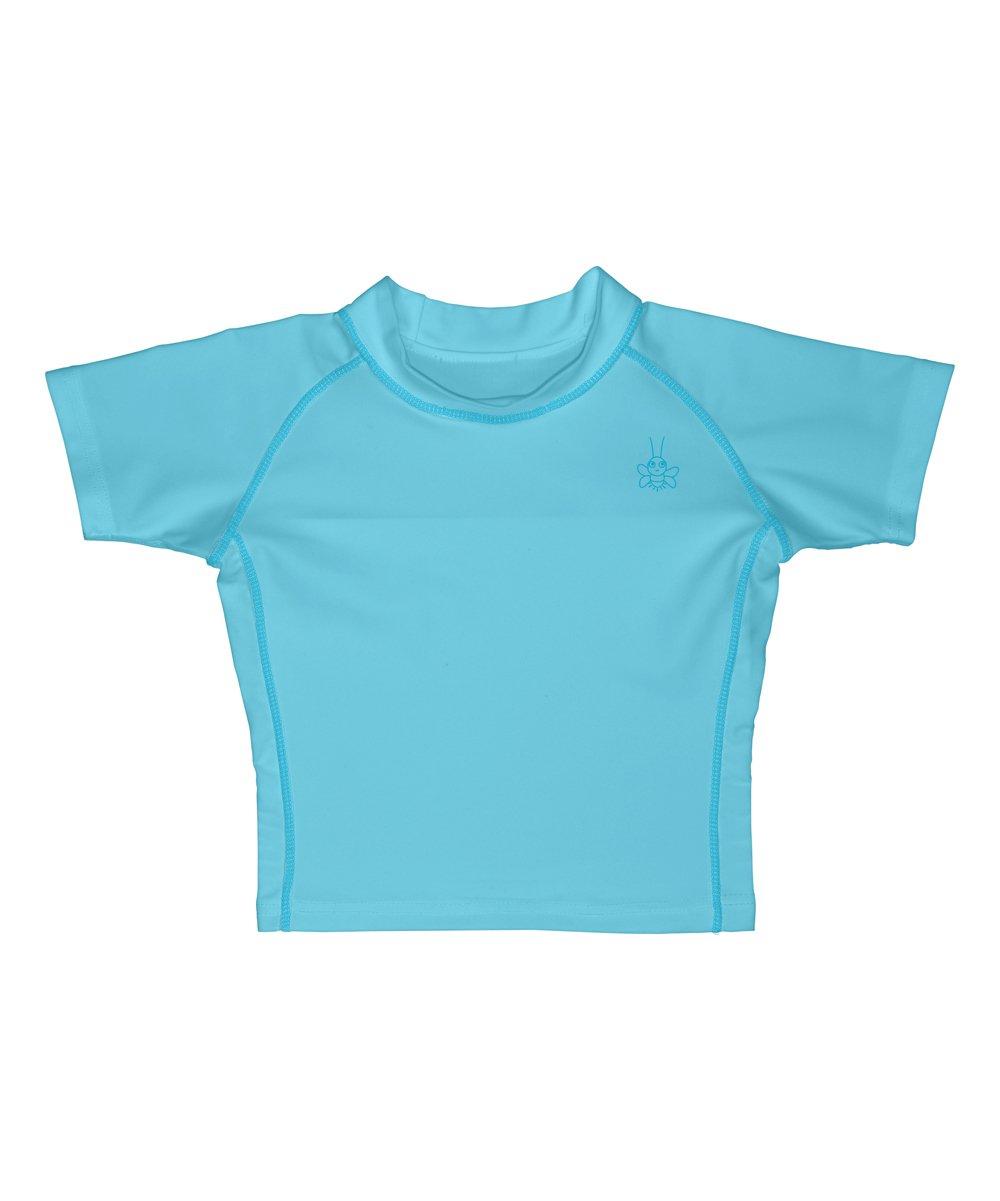 12mo Green Baby Short Sleeve Rashguard Shirt i play