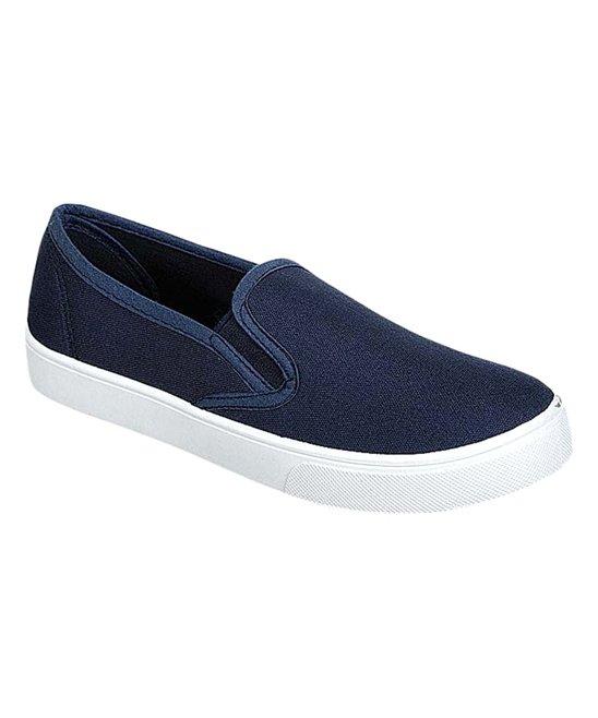 Refresh Navy Scott Slip-On Sneaker