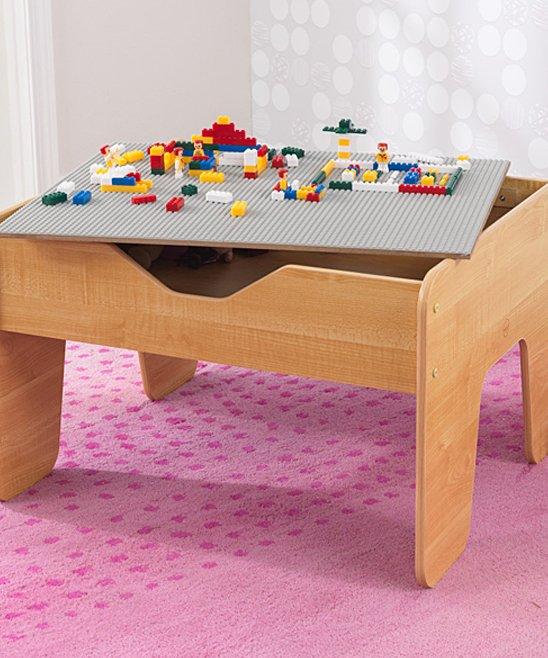 Natural Activity Play Table & Block Set! .49 (REG .99) at Zulily!
