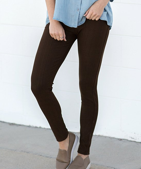 Contagious Dark Brown Jeggings Women Best Price And Reviews Zulily