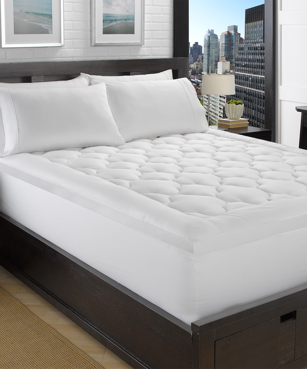 """Microgel 2"""" Plush Mattress Topper! .99 at Zulily TODAY ONLY!"""