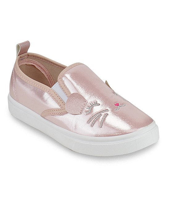 Honey Bunny Pink Gena Cat Slip-On