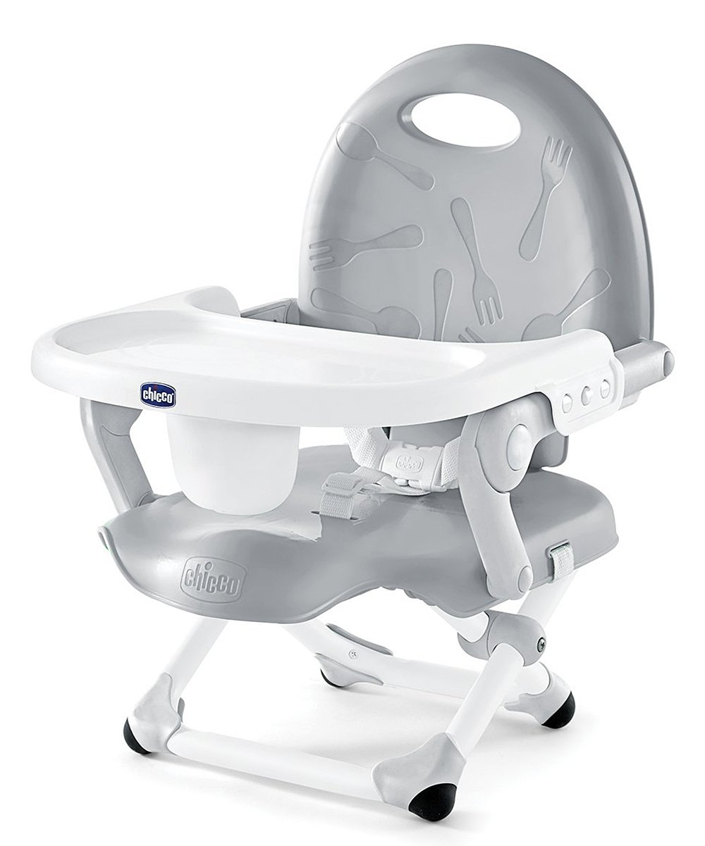 Gray Pocket Snack Booster Seat! .99 at Zulily!