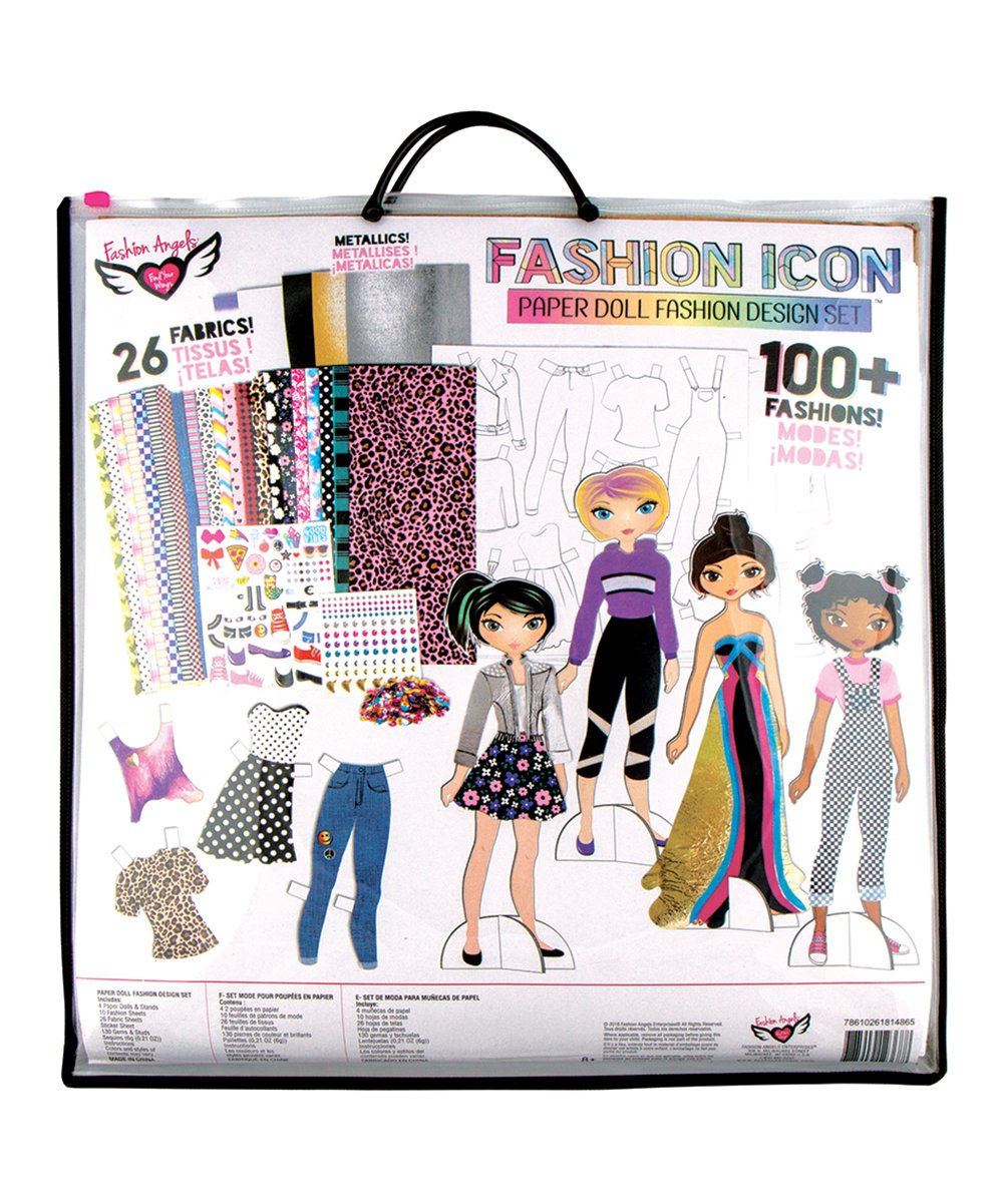 Fashion Angels Fashion Icon Paper Doll Fashion Design Kit Zulily