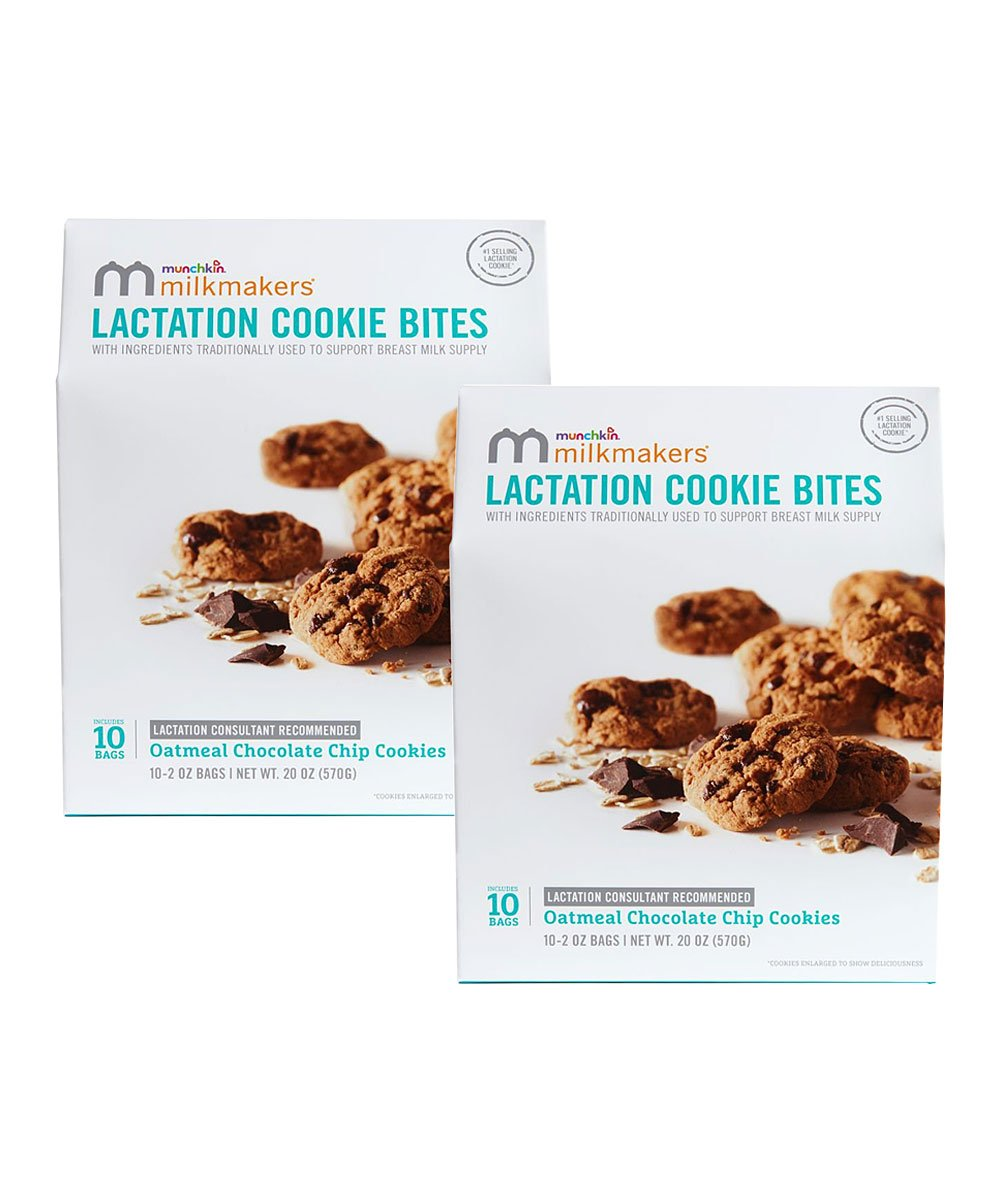 Chocolate Chip Bite-Size Lactation Cookies – Set of 20! .99 at Zulily!