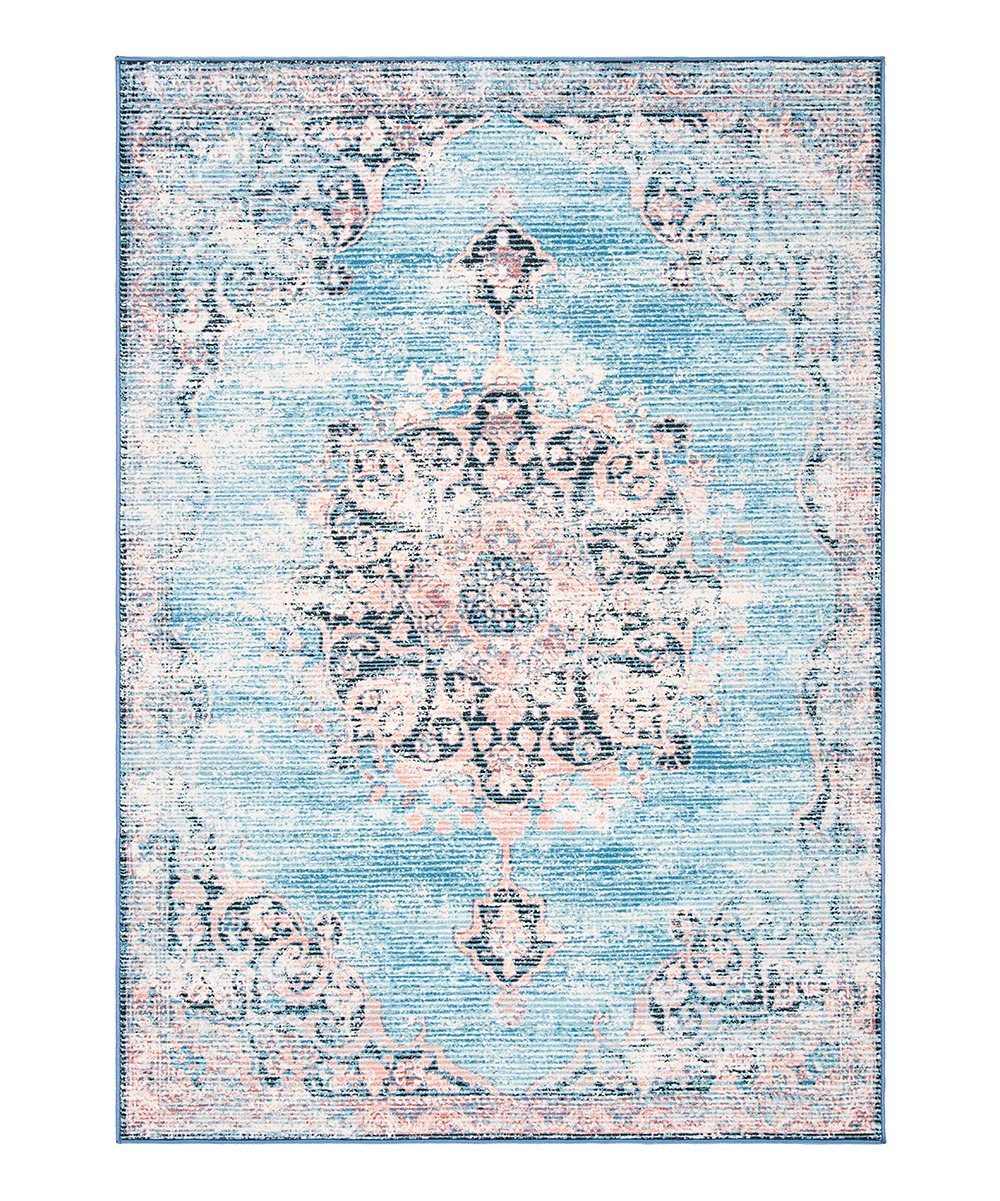 Safavieh Rugs Turquoise Pink Ariel Journey Rug Best Price And Reviews Zulily