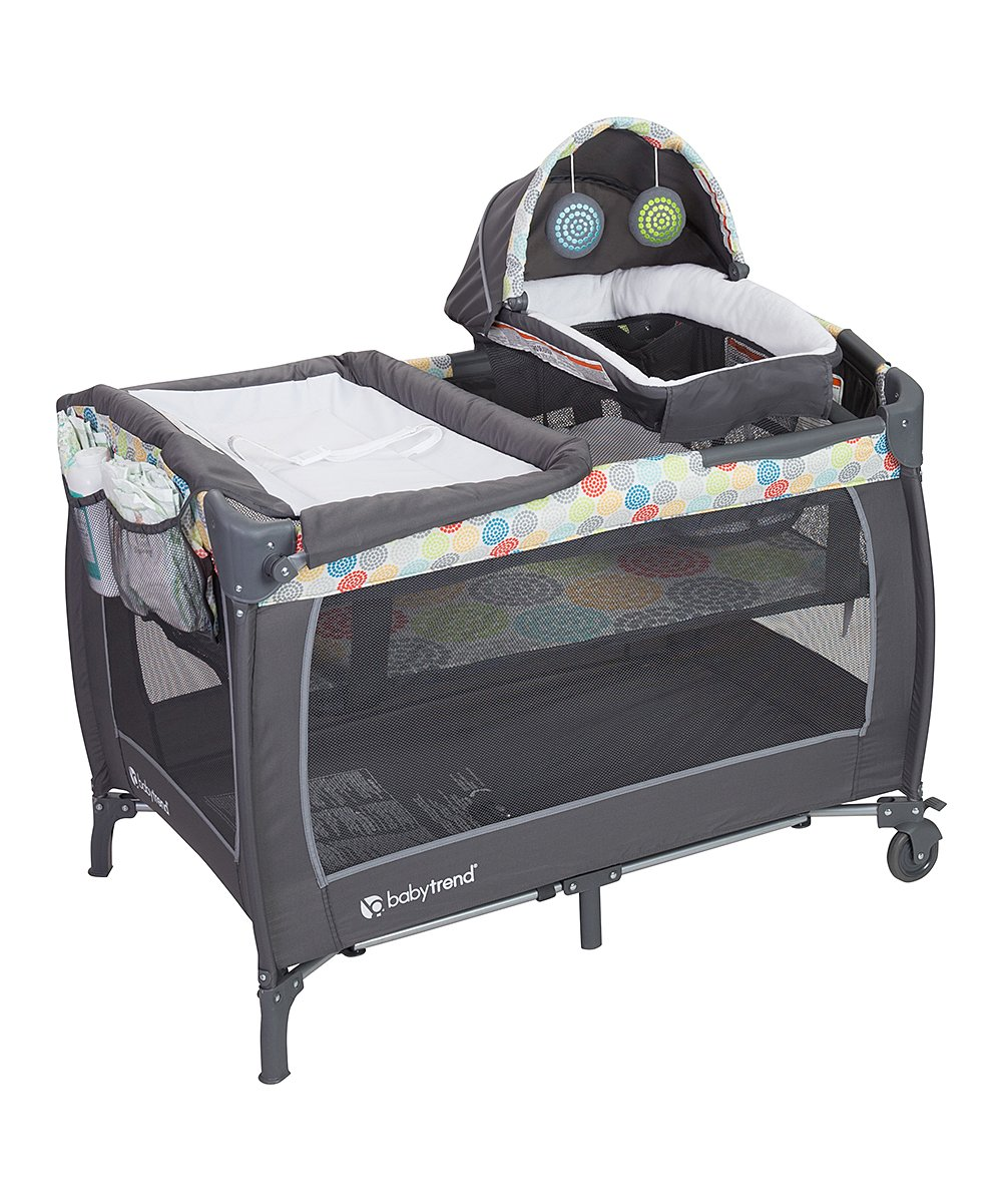 Funfetti Lil' Snooze Deluxe II Nursery Center! .98 at Zulily!