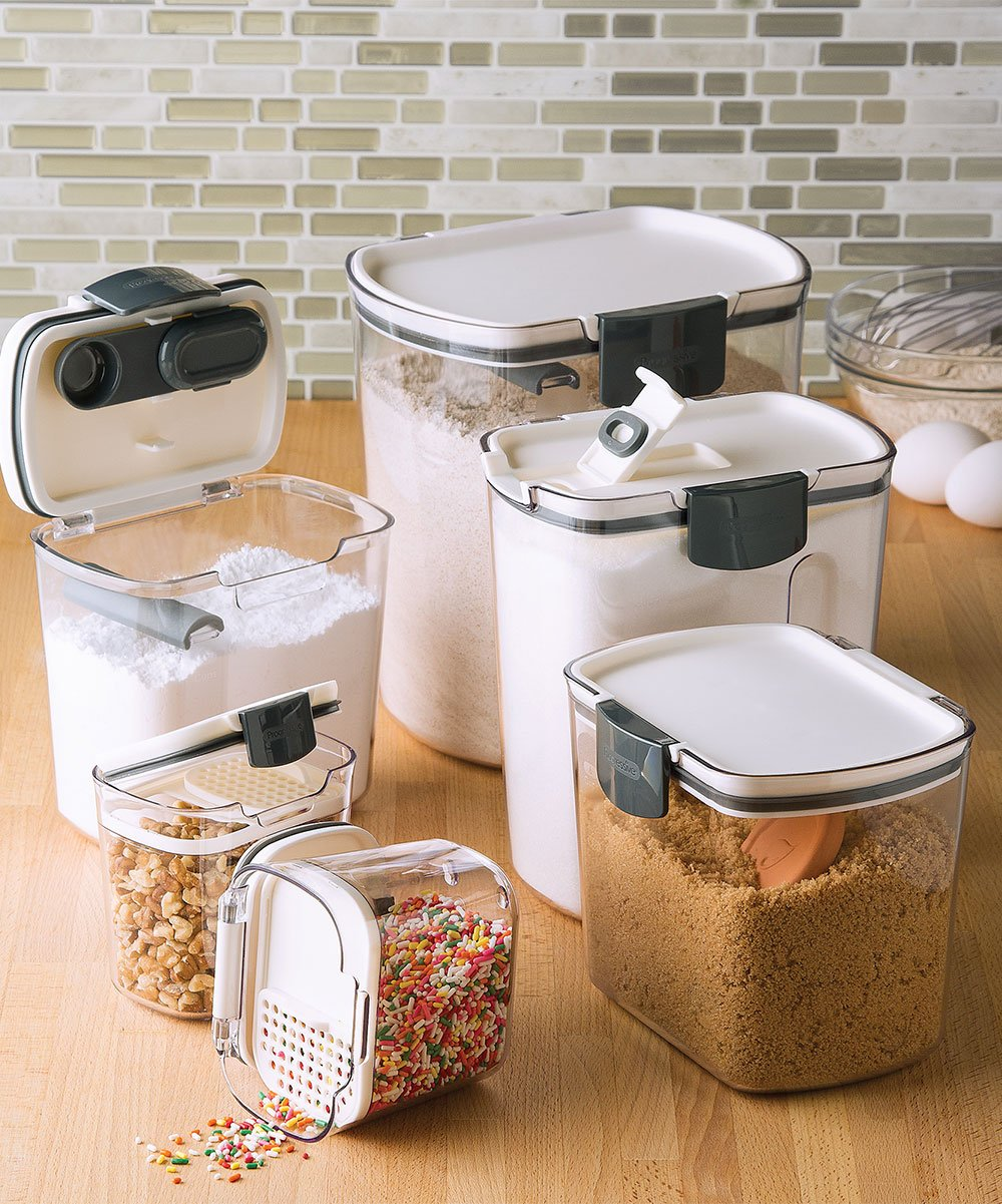 Sugar & Flour 6-Piece Baker's Container Set! .99 at Zulily TODAY ONLY!