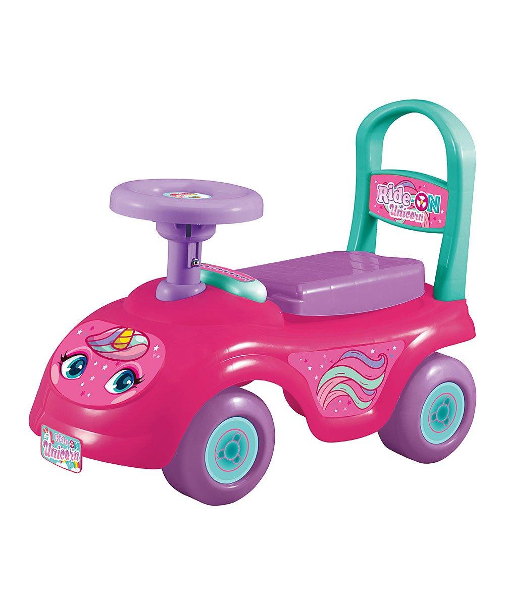 .79 Pink Unicorn Ride-On at Zulily!