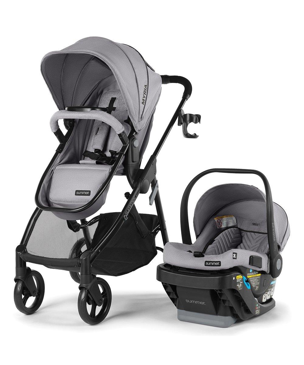 Stone Gray Myria Modular Stroller & Affirm 335 Infant Car Seat! 9.99 at Zulily!