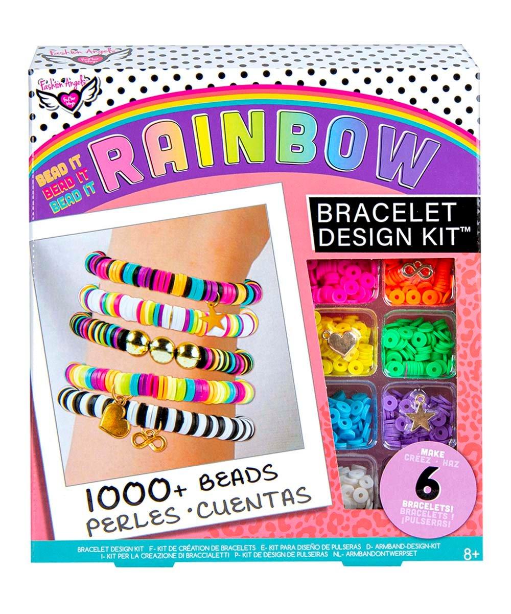 .99 Rainbow DIY Beaded Bracelet Set at Zulily!