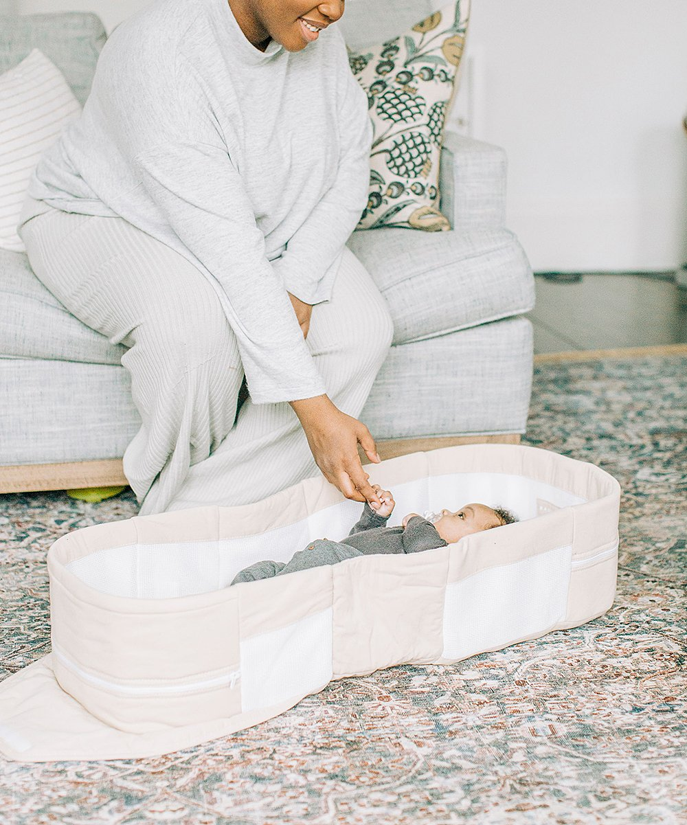 Organic Baby Bassinet/Bedside Sleeper & Portable Snuggle Nest! 9.99 at Zulily!