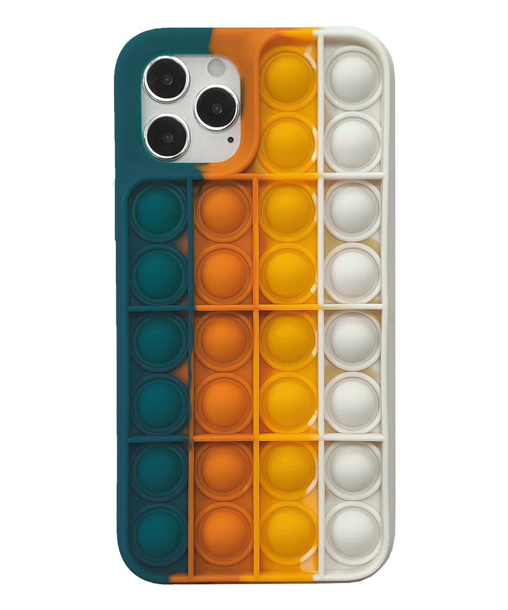 .99 Navy & White Rainbow Silicone Smartphone Case at Zulily!