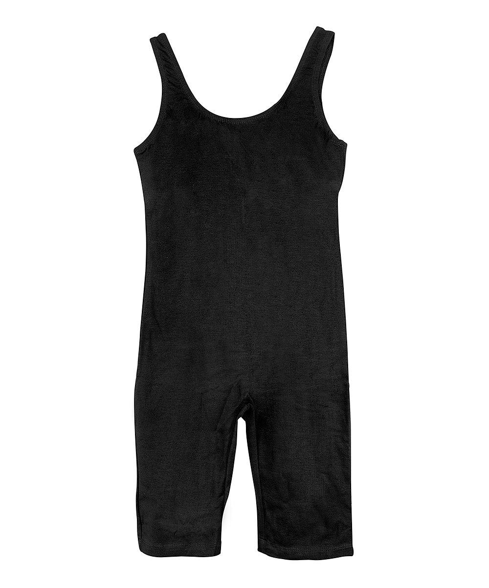 .99 Black Sleeveless Capri Unitard – Girls at Zulily!