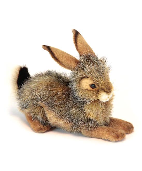 Hansa Toys  Stuffed Animals  - Crouching Bunny Rabbit Plush Toy