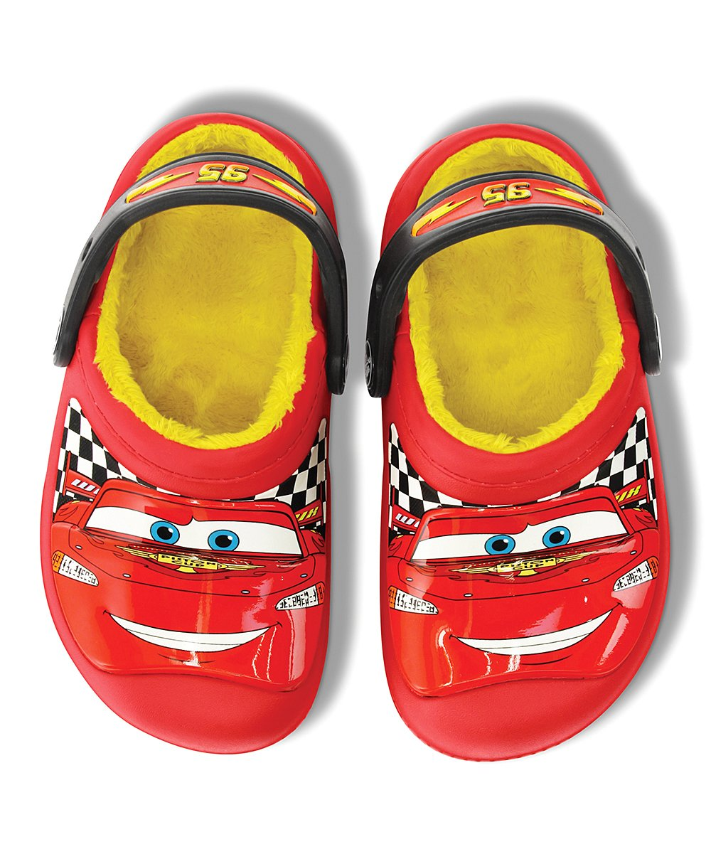 5db38a28e Cars Lightning McQueen Red Creative Crocs Lined Clog - Boys