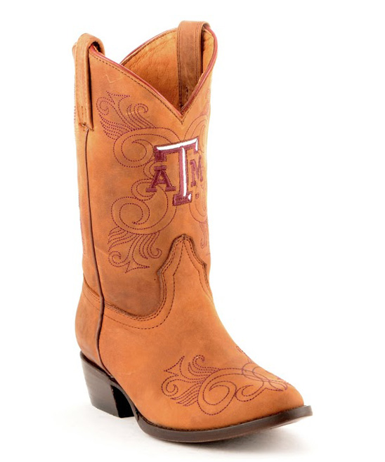 fa0f3d8c900 Someday Boots Texas A&M Aggies Cowboy Boot - Kids