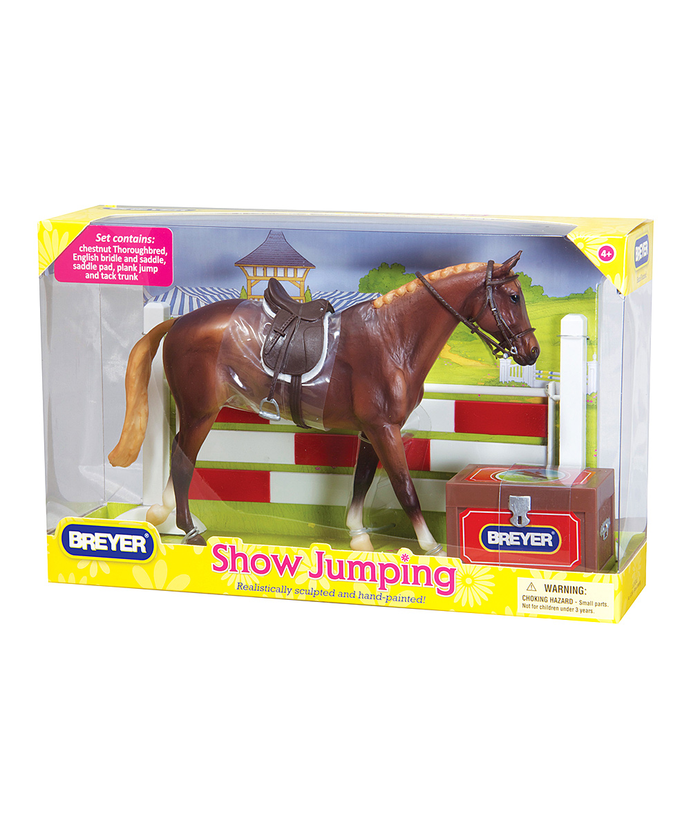 Breyer Classics Show Jumping Horse Toy