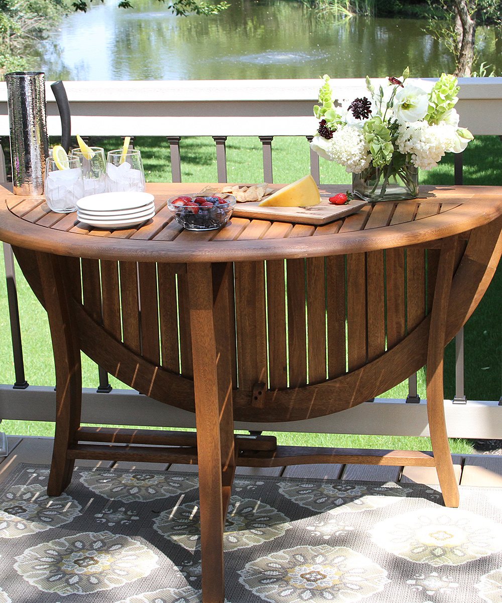 Outdoor Interiors 48 Round Folding Table | Zulily