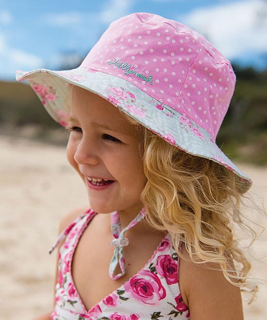 e49f13234c5 ... Girls Choe mint Mint Chloe Reversible Bucket Hat - Toddler   Girls -  Alternate Image 2