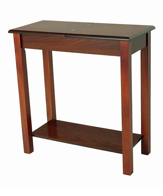 Megaware Furniture  Dining Tables Oak - Lift-Top Storage Side Table