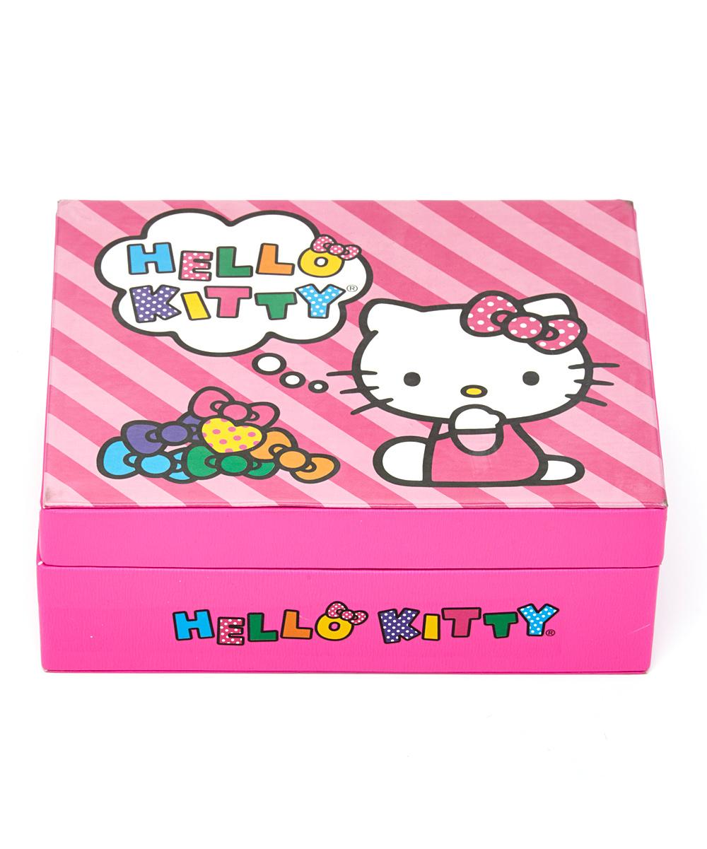 732754343 BB Designs Hello Kitty Ring-Holder Jewelry Box | Zulily