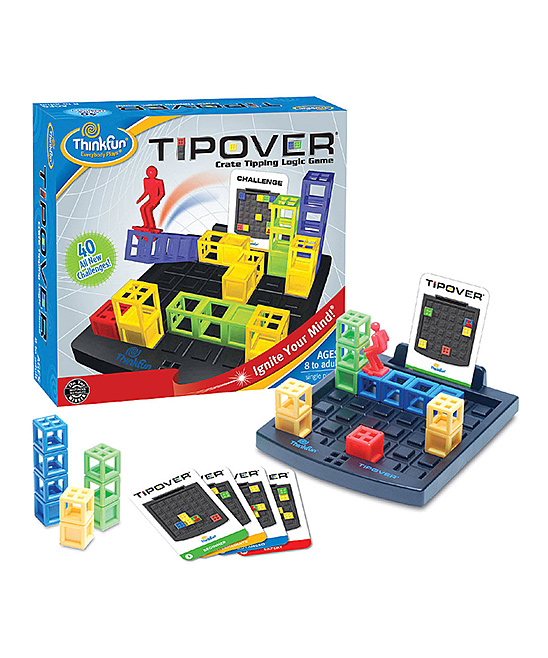 ThinkFun  Board Games  - TipOver Game