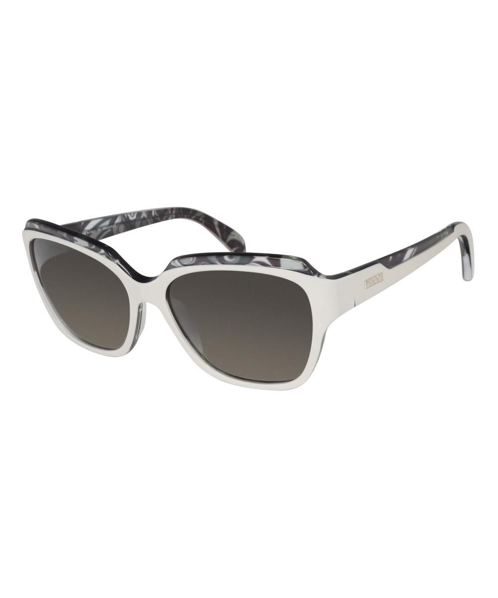 2b856c66966 Emilio Pucci Ivory Retro Sunglasses