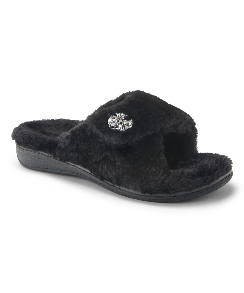 8e7c7288d35c all gone. Black Relax Luxe Slipper - Women