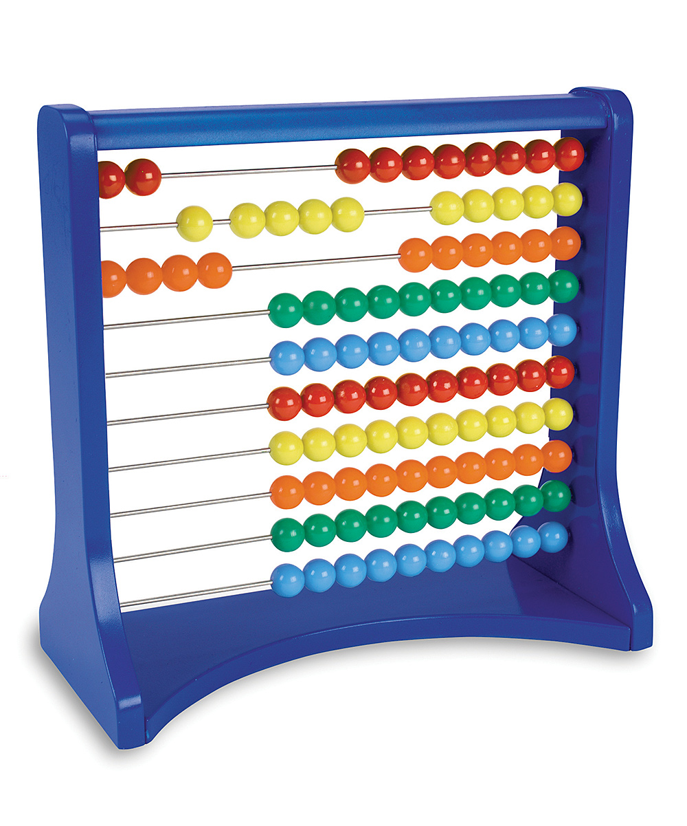 Learning Resources  Math Education Toys  - 10-Row Abacus