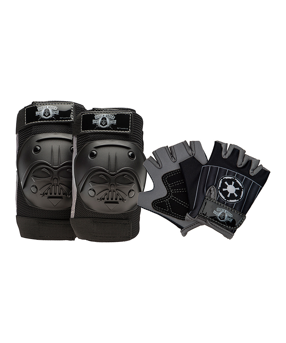 Black Star Wars Darth Vader Pad Set - Kids