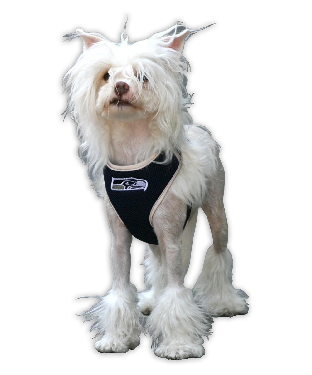2f58f0f82 ... Blue Seattle Seahawks Dog Harness Vest - Alternate Image 2 ...