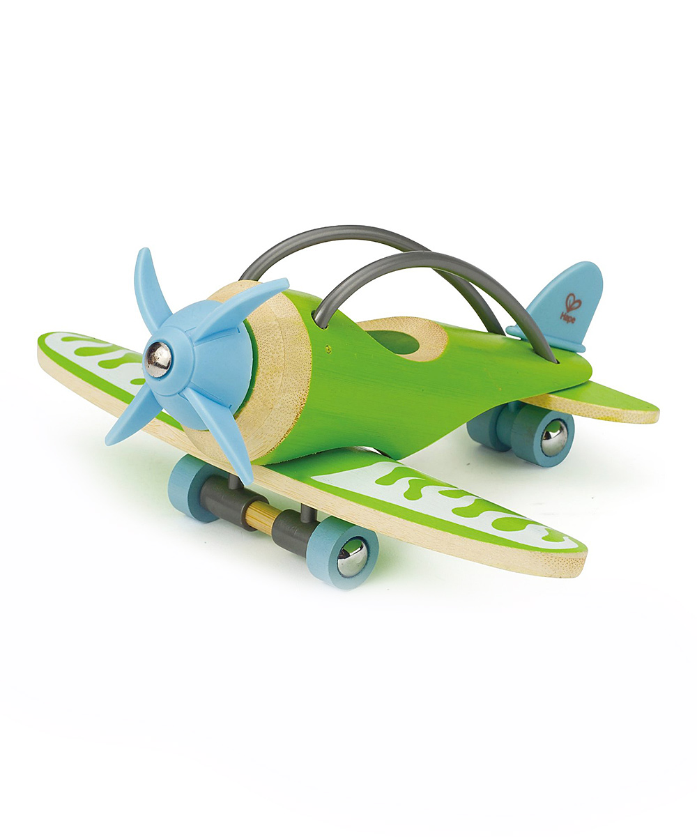 Hape Toys  Toy Planes  - Bamboo Plane Toy