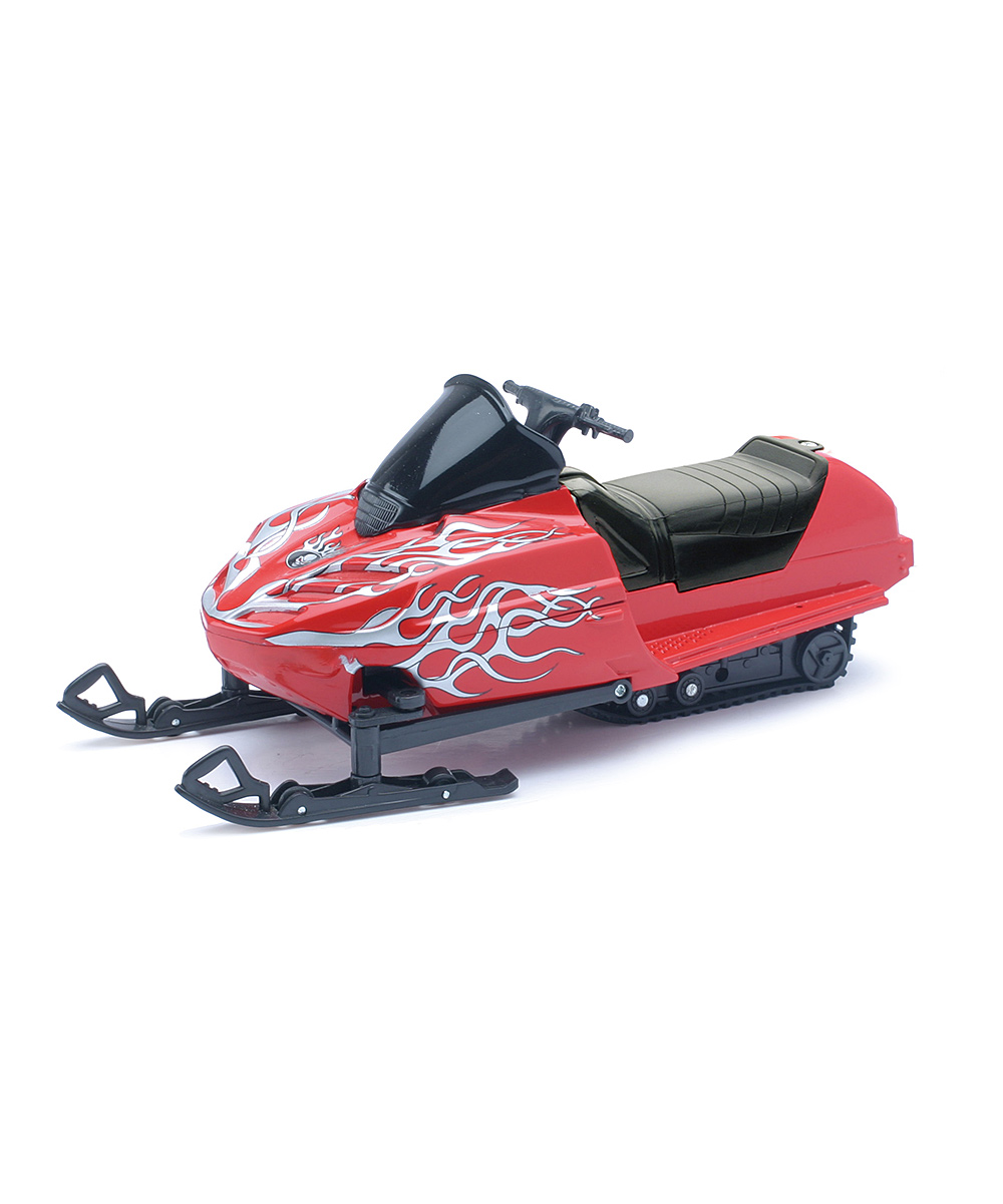 New-Ray Toys  Remote Control Toys Red - Remote Control Snowmobile