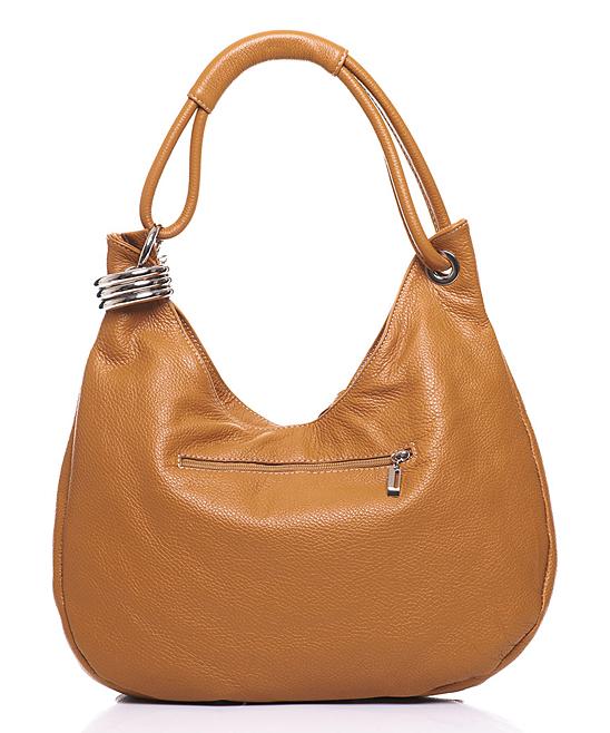 68550f09c463 ... Womens CUOIO (26) Cuoio Crescent Leather Hobo - Alternate Image 4 ...