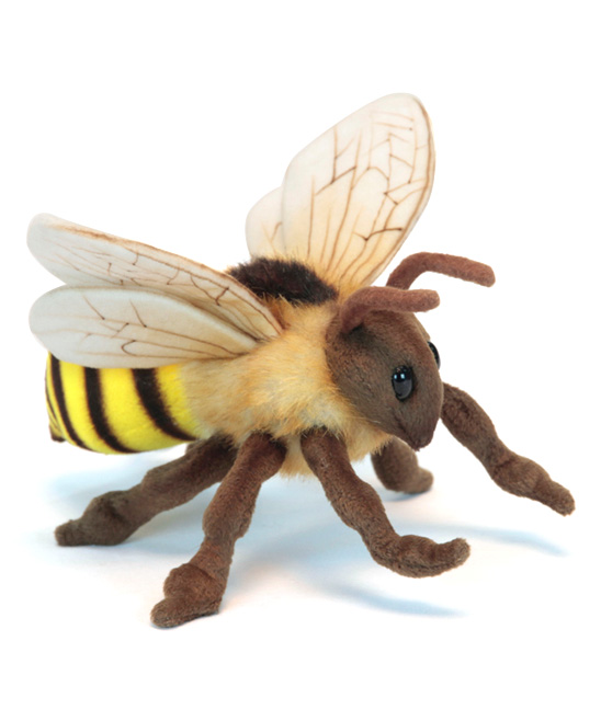 Hansa Toys  Stuffed Animals  - Honey Bee Plush Toy