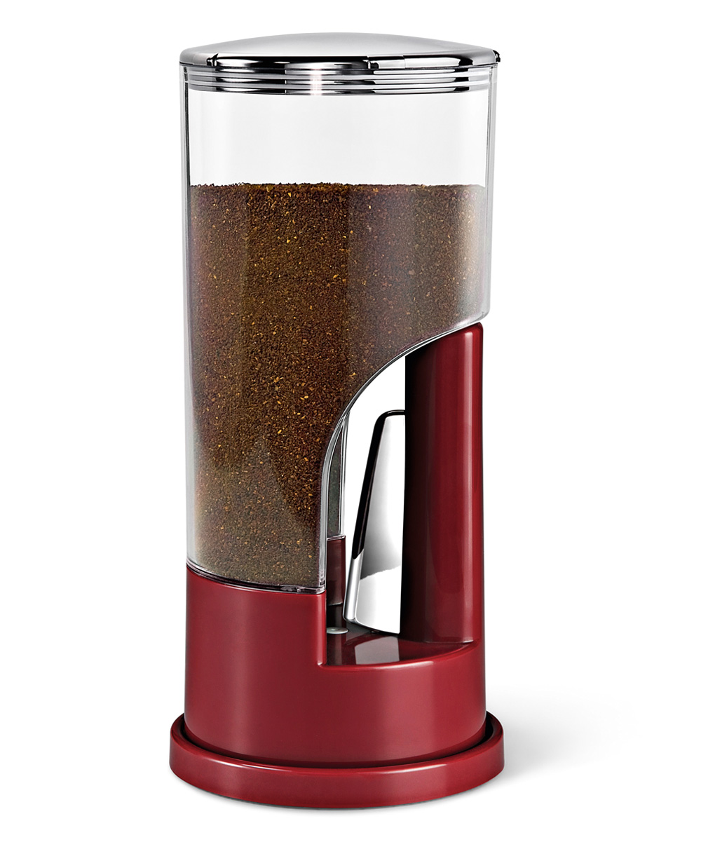 Zevro KCH-06078 Indispensable Coffee Dispenser, Red - 1/2 Pound
