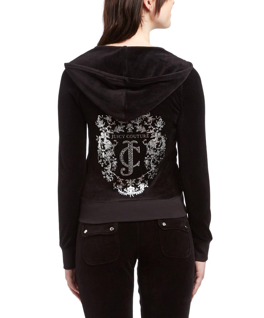1769384007 Juicy Couture Black Cherubs JC Original Hoodie