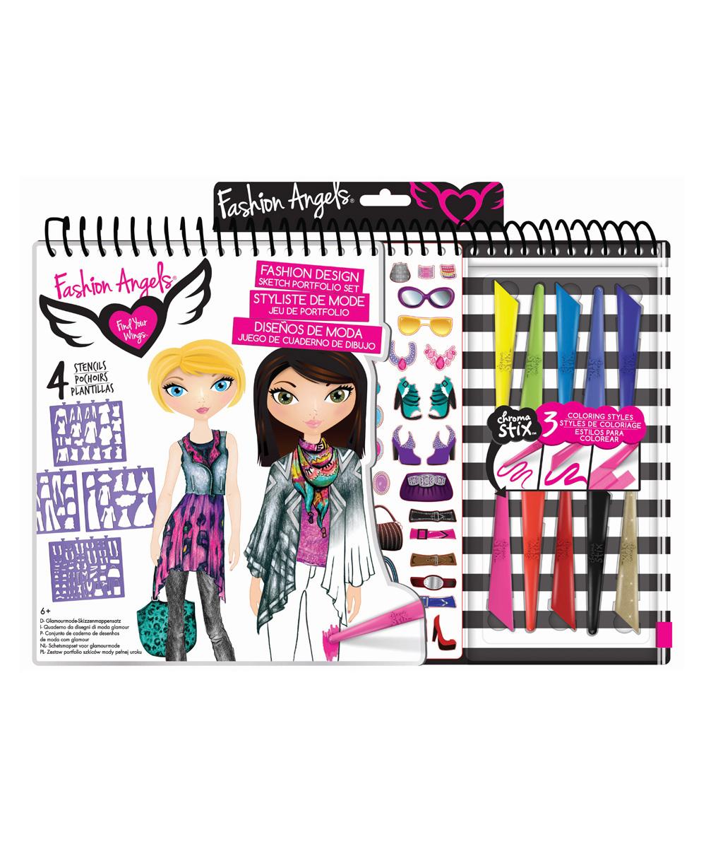 Fashion Angels Fashion Design Portfolio Artist Kit Zulily