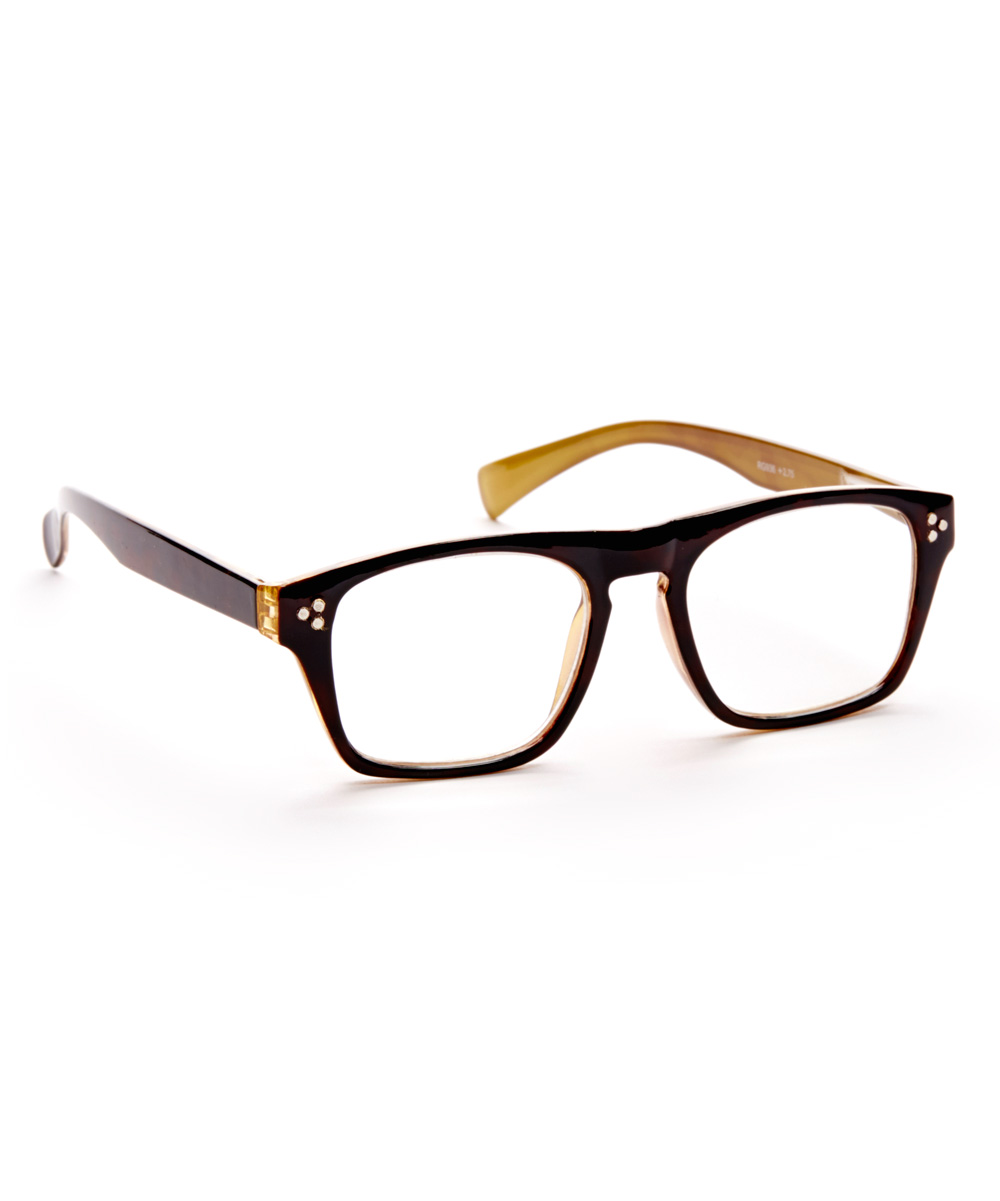 Art Wear Women's Reading Glasses YELLOW - Yellow Statuesque Readers