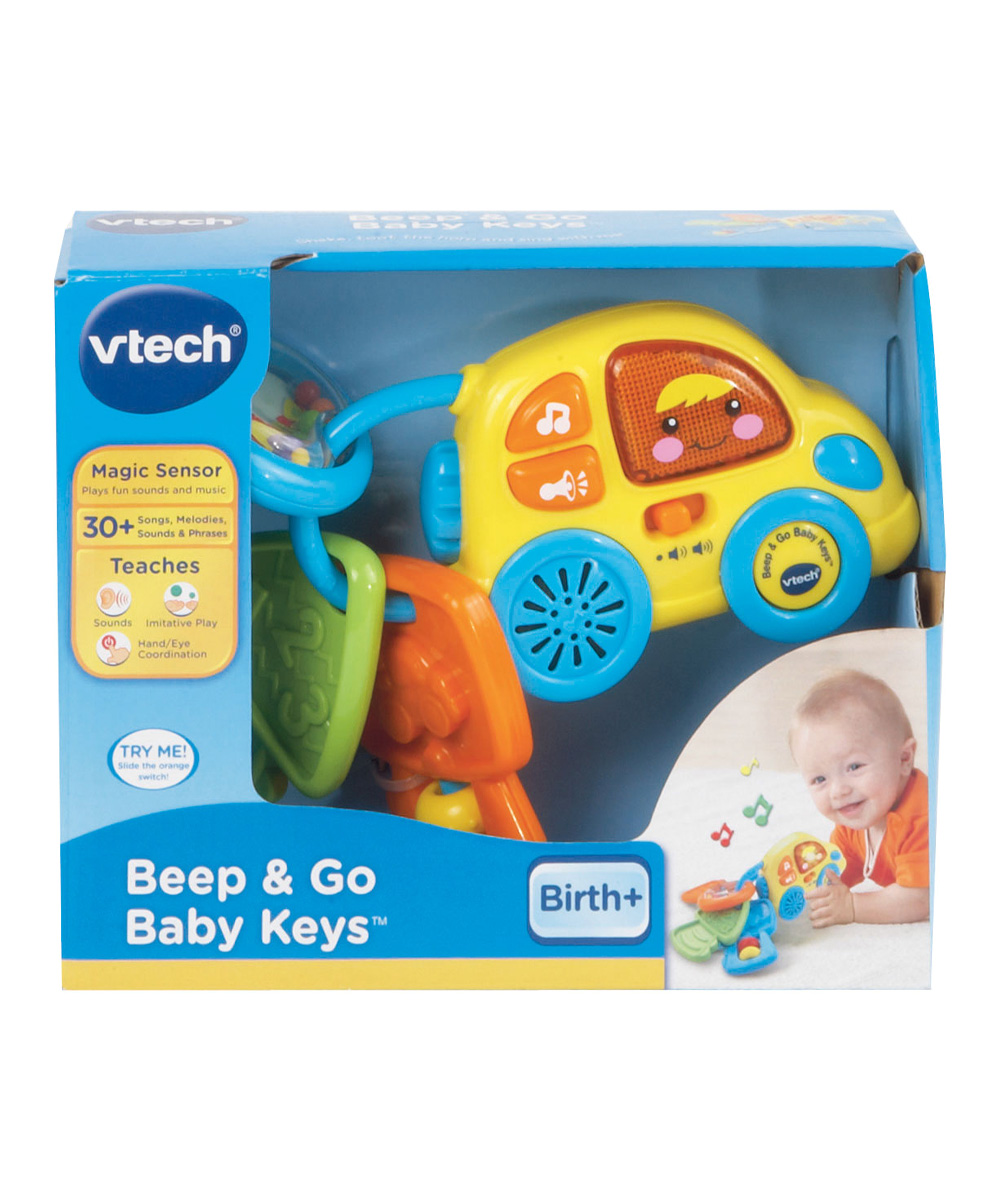 Vtech Beep Go Baby Toy Keys Zulily