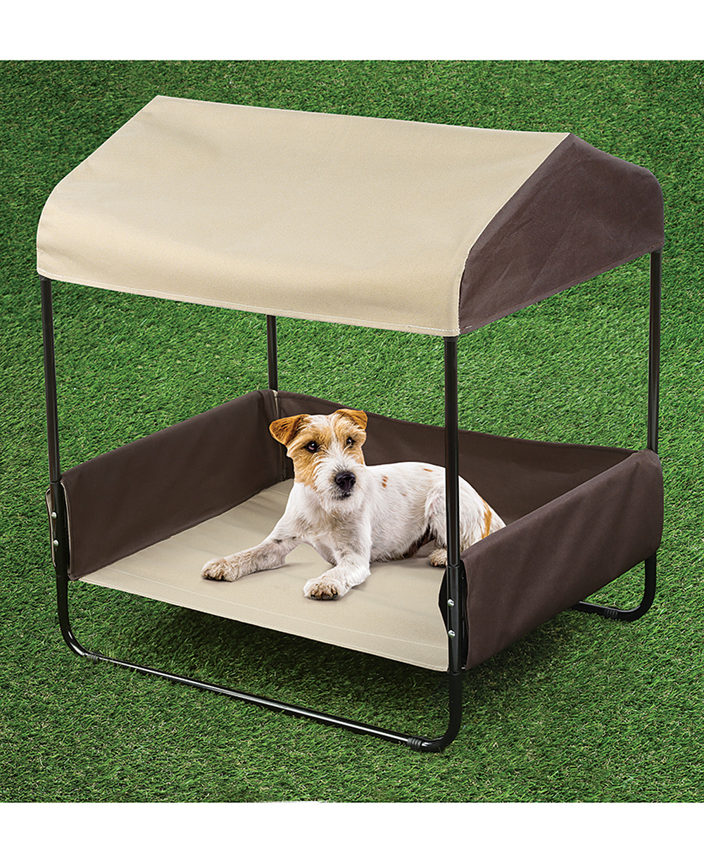 ... Pet Canopy Bed - Alternate Image 4 & Etna Products Pet Canopy Bed | Zulily