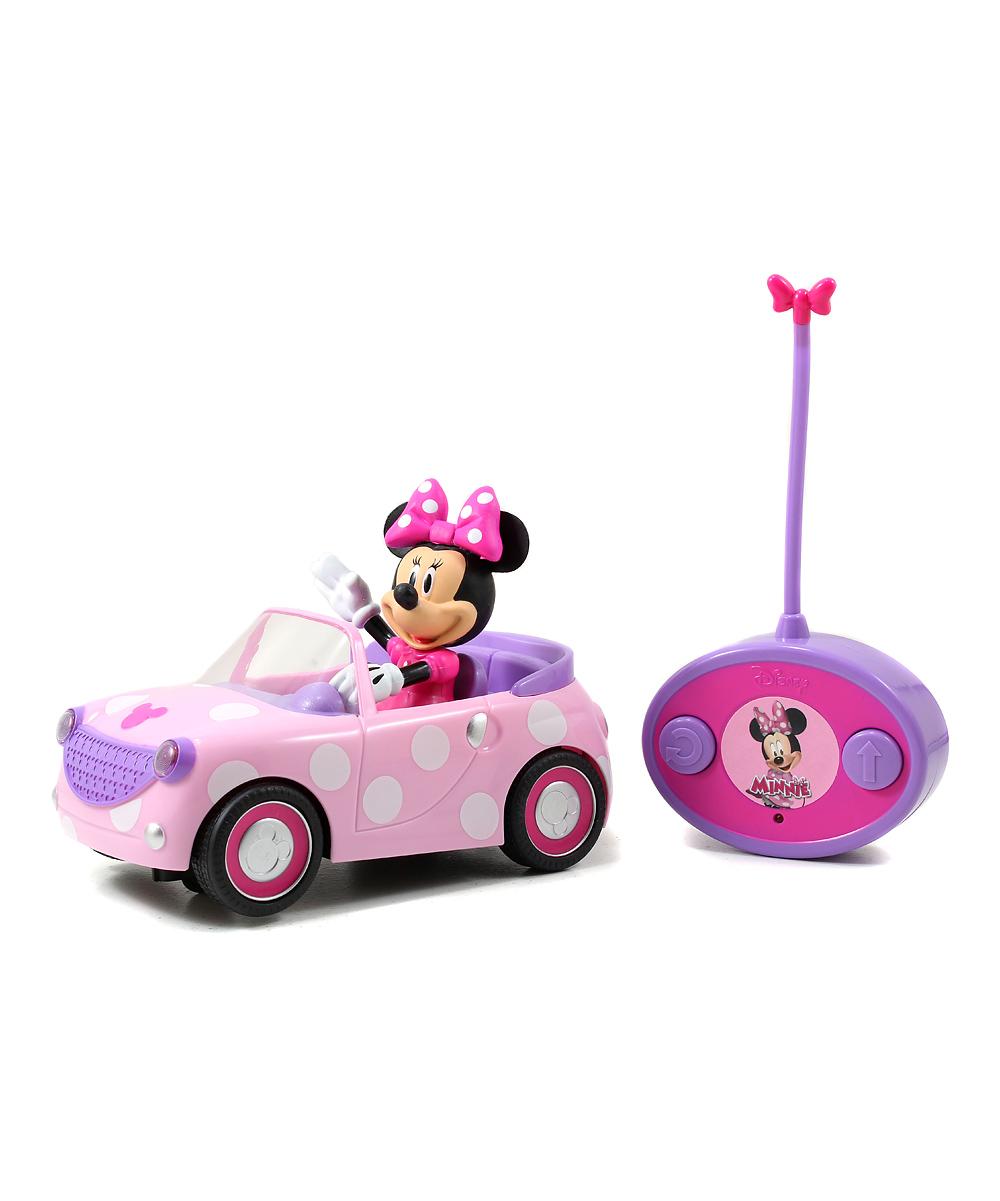 Jada Girls' Remote Control Toys  - Minnie Roadster Remote-Control Car