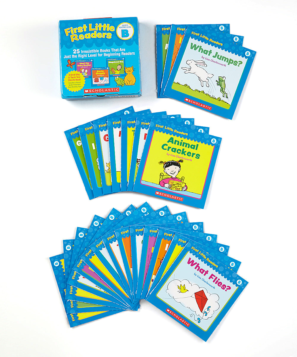 First Little Readers: Guided Reading Level B Workbook Set