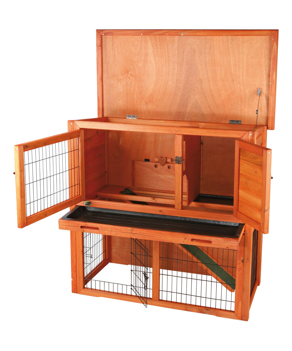 ooden te pet ome house cabin dog hutch nantucket trixie rabbit log products