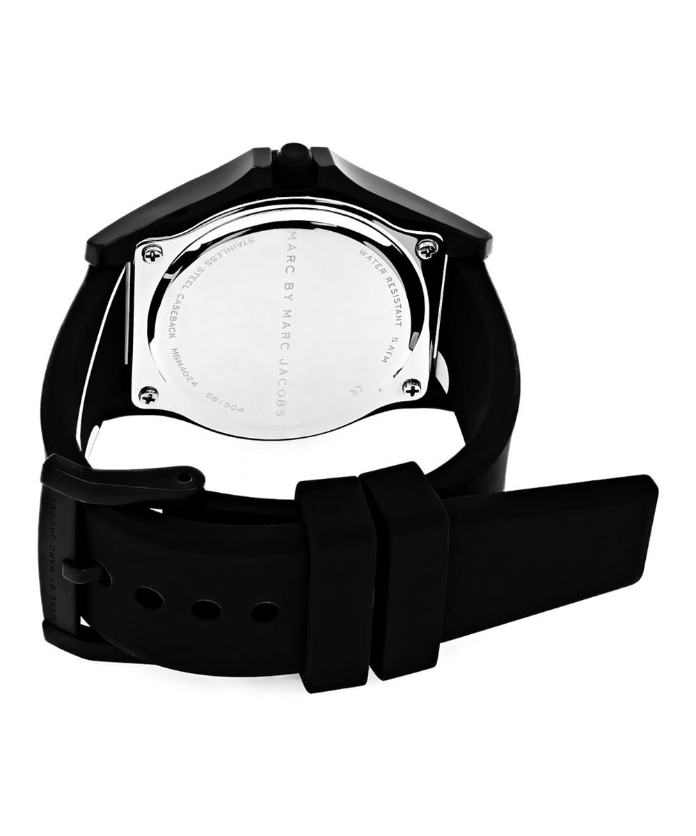 1aa9a6318ae Marc by Marc Jacobs Black Sloane Watch