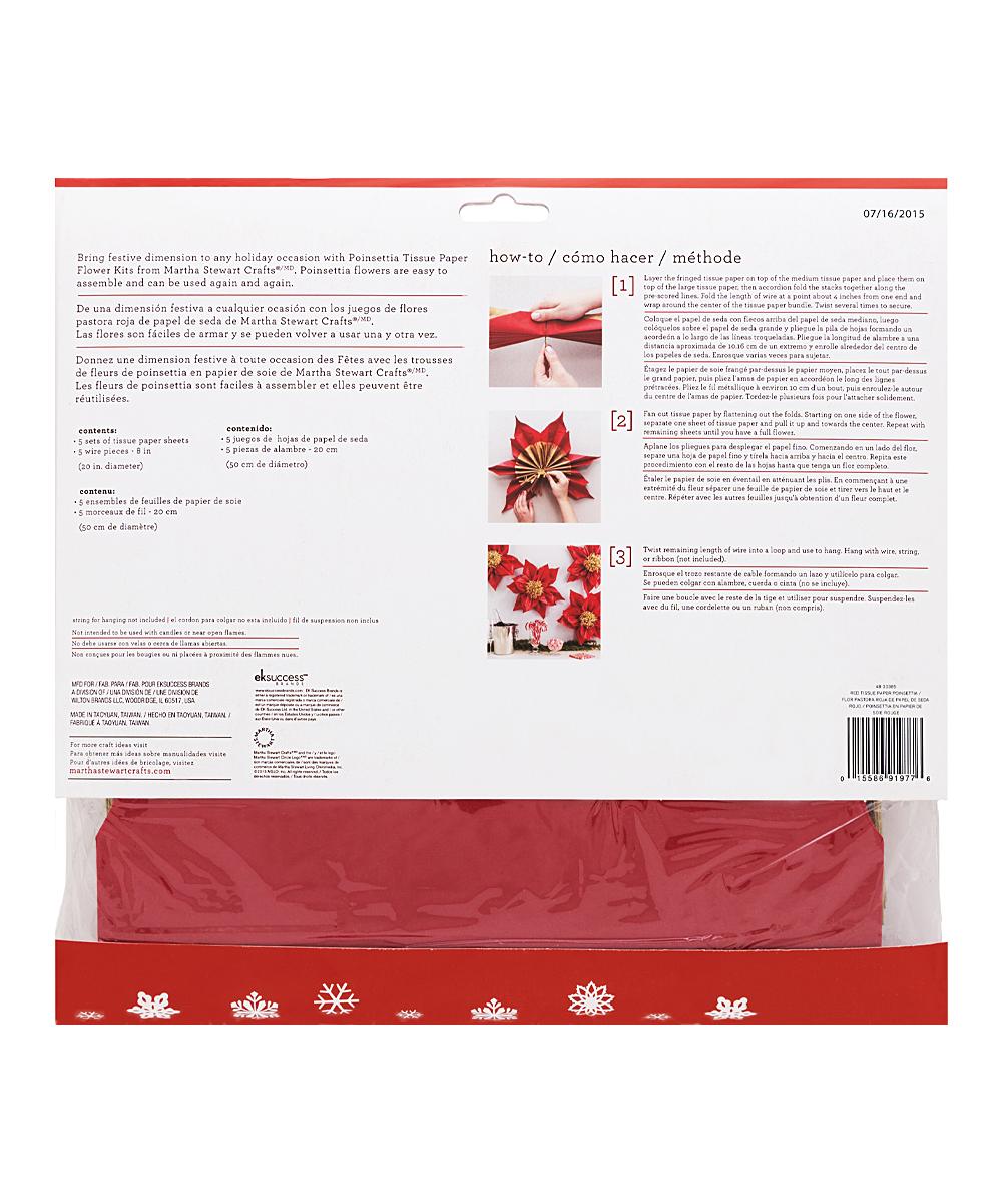 martha stewart tissue paper flower kit - Vaydile.euforic.co